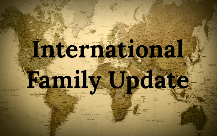 COVID-19 International Family Update