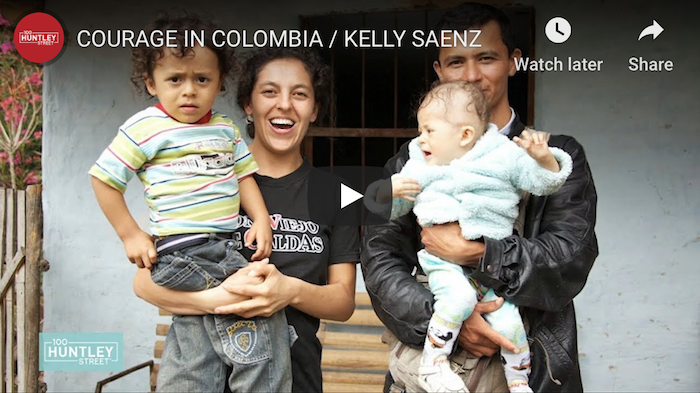 Courage in Colombia – Russell Stendal's Friend Interviewed on 100 Huntley Street